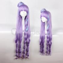 Macross Delta Mikumo Guynemer Purple Cosplay Wig