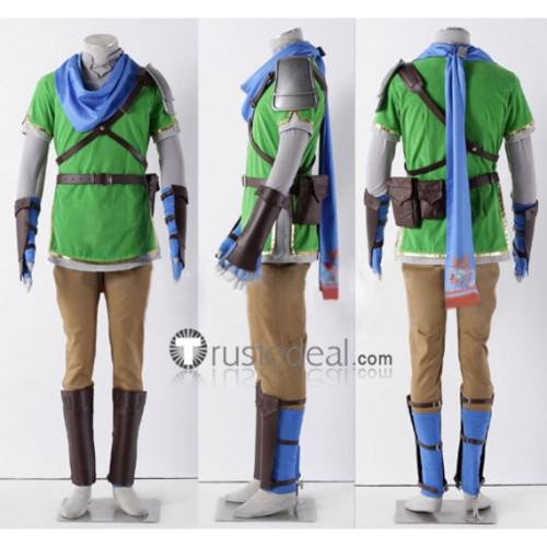 The Legend of Zelda Hyrule Warriors Red Green Yellow Cosplay Costume