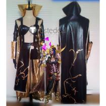 League of Legends LOL Leblanc Classic Cosplay Costume