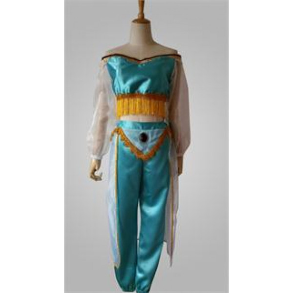 Aladdin Disney Princess Jasmine Cosplay Costume3