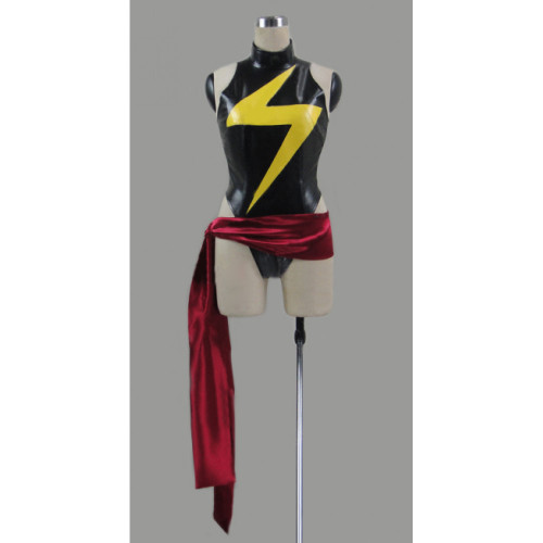 The Avengers Ms. Marvel Kamala Khan Cosplay Costume