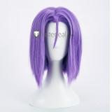 Pokemon James Purple Cosplay Wig