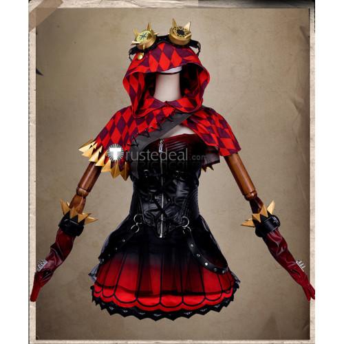 Identity V Machinist Tracy Reznik Little Red Hood Gothic Cosplay Costume
