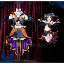 LoveLive SR Halloween Umi Nico Maki Nozomi Hanayo Eli Honoka Kotori Rin Cosplay Costumes