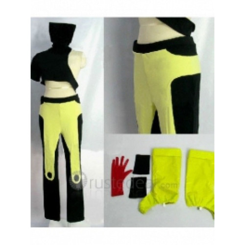 The King of Fighters Lin Black Yellow Costume