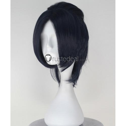 Seraph of the End Owari no Serafu Rene Simm Black Cosplay Wig