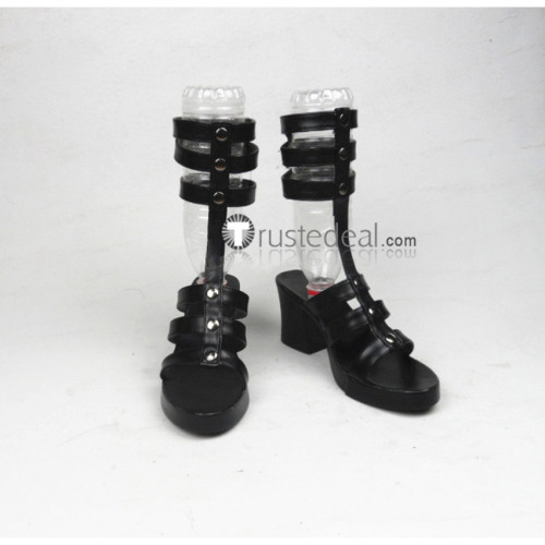 Persona 5 Tae Takemi Black Cosplay Shoes