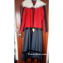 Pokemon Gijinka Human Yveltal Red Cosplay Costume