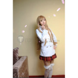 Sword Art Online Asuna Date White Cosplay Costume