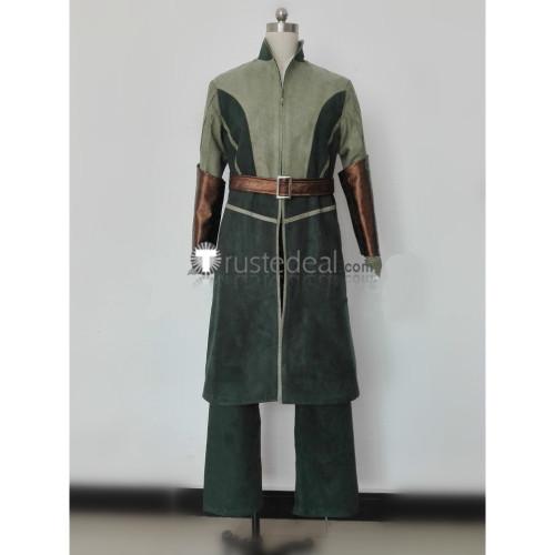 The Hobbits Movie Legolas Elf Cosplay Costume
