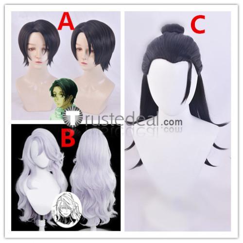 Jujutsu Kaisen Sorcery Fight Suguru Getou Yuta Okkotsu Satoru Gojo Genderbend White Black Cosplay Wigs