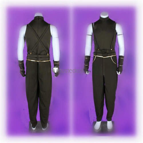The King of Fighters Adelheid Bernstein Adel Boss Black Cosplay Costume