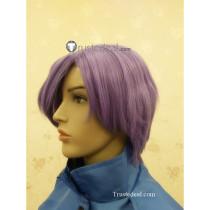 Code Geass Lloyd Asplund Purple Cosplay Wig