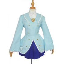 Fushigiboshi No Futago Hime Twin Princesses of the Wonder Planet Rein Blue Cosplay Costume