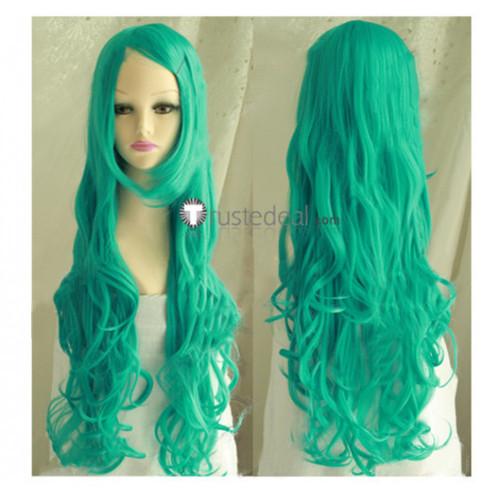 Bleach Nelliel Tu Odelschwanck Adult Long Green Cosplay Wig
