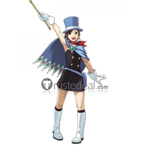 Gyakuten Saiban Phoenix Wright Ace Attorney Trucy Wright Minuki Naruhodou Magician Cosplay Costume