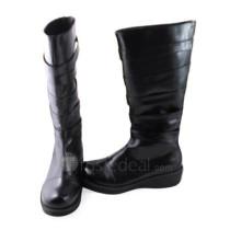 Elegant High Shaft Black Cosplay Boots
