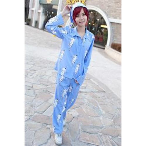 Attack on Titan Shingeki No Kyojin Levi Rivaille Pajamas Cosplay Costume