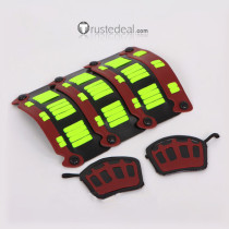 Touken Ranbu Hotarumaru Shoulder Armor Wristbands Cosplay Props