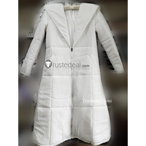 Devilman Crybaby Ryo Asuka White Down Coat Cosplay Costume Version 2