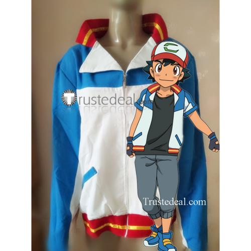 Pokemon The Power of Us Ash Ketchum Cosplay Costume 6