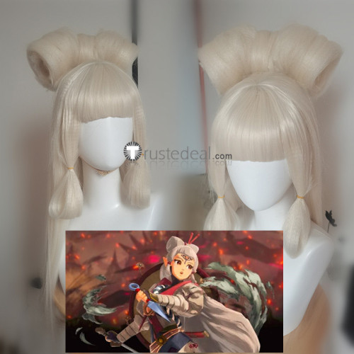 Hyrule Warriors Age of Calamity Impa Cosplay Wig
