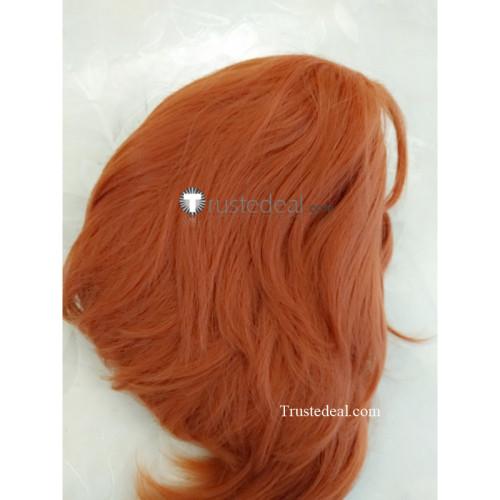 Voltron Legendary Defender Coran Red Orange Cosplay Wig