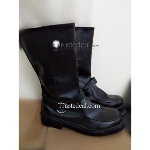 Fruits Basket Hatsuharu Sohma Black Cosplay Shoes Boots