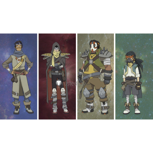 Voltron Keith Pidge Lance Hunk Coran Space Pirate Cosplay Costumes