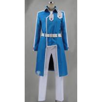 Sword Art Online Project Alicization Eugeo Yuujio Blue Cosplay Costume