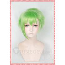 Macross Delta Reina Prowler Green Cosplay Wig