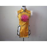 Tekken7 Ling Xiaoyu Yellow Cosplay Costume