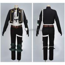 Touken Ranbu Hizamaru Black Cosplay Costume