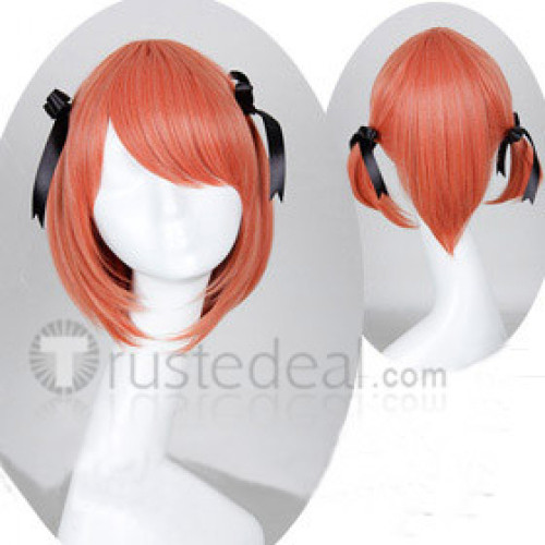 The Devil Is A Part Timer Chiho Sasaki Pink Orange Cosplay Wig