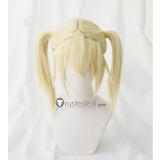 Hataraku Saibou Cells at Work Eosinophil Blonde Ponytails Cosplay Wigs