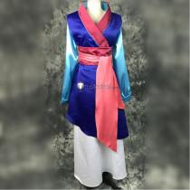 Disney Princess Mulan Cosplay Costume1