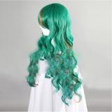 Yowamushi Pedal Makishima Yusuke Green Cosplay Wig