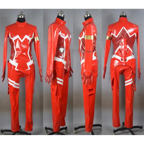 Darling in the Franxx Zero Two Code 002 Pilots Red Jumpsuit Bodysuit Cosplay Costume2