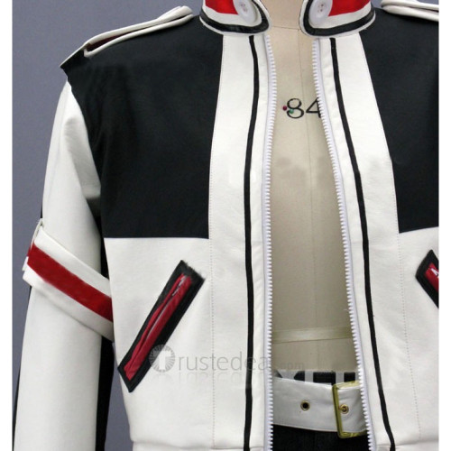 The King of Fighters Kyo Kusanagi Pleather Cosplay Costume
