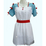 Sword Art Online Asuna Maid Cooking Cosplay Costume