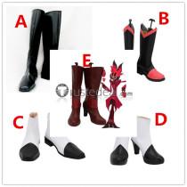 Hazbin Hotel Charlie Lucifer Alastor Cosplay Shoes Boots