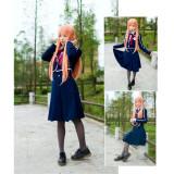 Sword Art Online Asuna School Uniform Cosplay Costume
