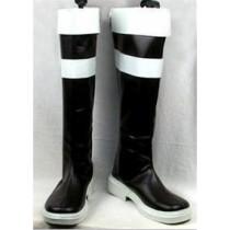 Sword Art Online 3 Leafa Kirigaya Suguha Black Cosplay Boots Shoes