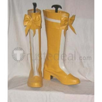 Suite Pretty Cure Cure Muse Shirabe Ako Yellow Cosplay Boots Shoes