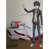 Toaru Majutsu no Index A Certain Magical Index Kamijou Touma Cosplay Shoes Boots