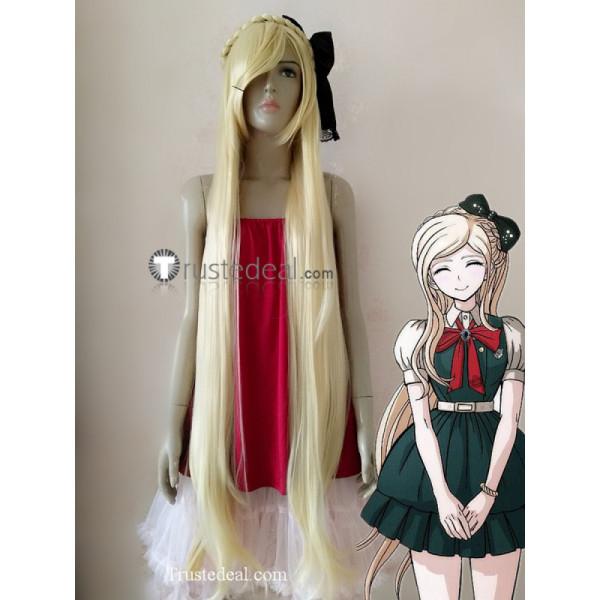 Super Danganronpa 2 Goodbye Despair Academy Sonia Nevermind Blonde Cosplay Wig
