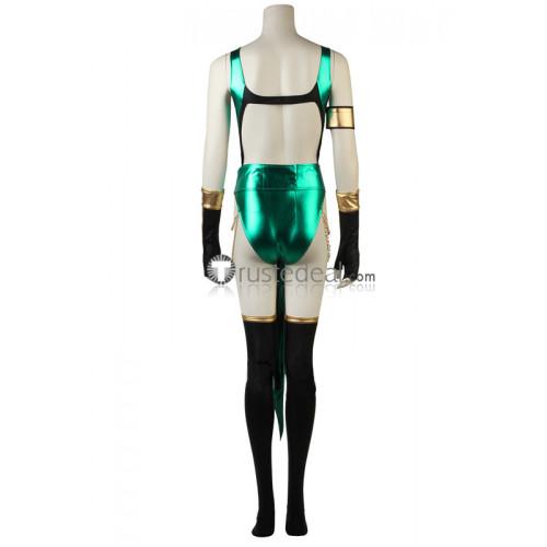 Mortal Kombat X Jade Green Bodysuit Cosplay Costume