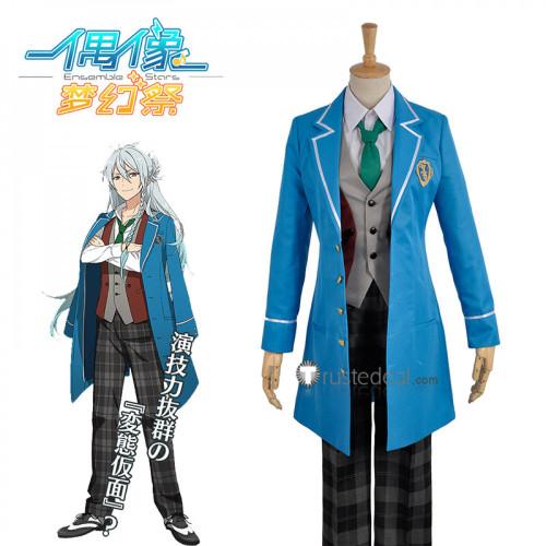 Ensemble Stars Fine Wataru Hibiki Blue School Uniform Cosplay Costume