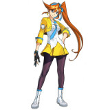 Phoenix Wright Ace Attorney Dual Destinies Athena Cykes Yellow Cosplay Costumes