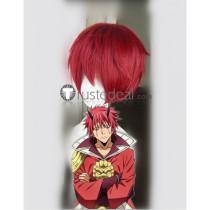 Tensei Shitara Slime Datta Ken Benimaru Flare Lord Red Cosplay Wig